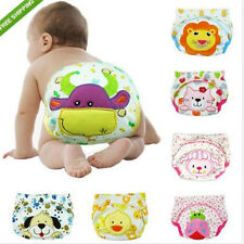 Baby Boy Girl Pee Potty Training Diaper Pants Cloth Nappy Infant Kid Underwear