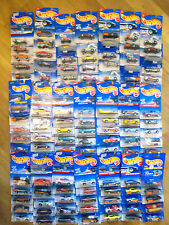 5x HOTWHEELS CARS/LORRIES ETC JOB LOT/COLLECTION. ALL MIB. PERFECT/BOXED/BLISTER