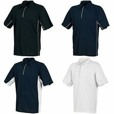 (Free PnP) Tombo Teamsport Mens Pique Sports Polo Shirt