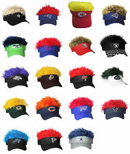 NFL Crazy Flair Hair Hats Pick your Favorite Team  FREE SHIPPING