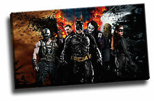 Batman Games Dark Knight & Characters Canvas Picture Poster