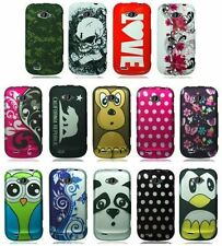 For ZTE Savvy Z750c Prepaid Cover Design Hard Snap On Protector Case