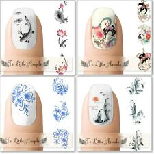Asian  Inspired Nail Art  Water Slide Sticker, Decals -USA Seller MANY TO CHOOSE