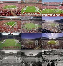 "Alabama Crimson Tide Bryant Denny Stadium CHOICES College Football Photo 11""x14"""