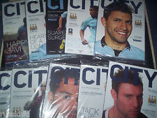 2012/13 MAN CITY HOME PROGRAMMES CHOOSE FROM