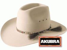 Akubra Stony Creek Western Felt Hat - Light Sand