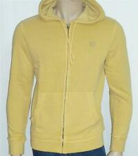 American Eagle Outfitters Mens Muted Yellow Hoodie Sweatshirt Jacket New NWT