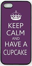 Keep Calm and have a Cupcake - Purple Case for iPhone 4/4s, 5/5s, 5c