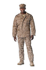 m-65 field jacket desert digital camo with removable liner  m65 coat rothco 8582