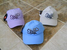 """NEW VIBE ADJUSTABLE WOMEN'S BASEBALL HAT """"SEXY"""" NEW WITH TAGS FREE SHIPPING"""