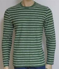 American Eagle Outfitters AEO Mens Green Heavyweight Crew Long Sleeve Shirt NWT
