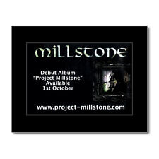 MILLSTONE - Project Millstone Matted Mini Poster