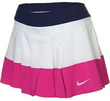 Nike Womens DriFit/Stay Cool Pleated Skirt/Skort Pink/White/Navy 480781-101