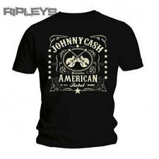 Official T Shirt JOHNNY CASH Vintage Classic AMERICAN REBEL Logo All Sizes