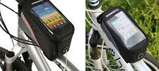 NEW ROSWHEEL BICYCLE MOBILE PHONE HOLDER CYCLE BIKE IPHONE FRAME POUCH BAG CASE
