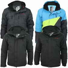Mens Volcano Sky Snowboard Technical Jacket Coat Wind WaterProof 10.000