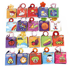 New Baby Kids Educational Intelligence Development Cognize Cloth Book Toy