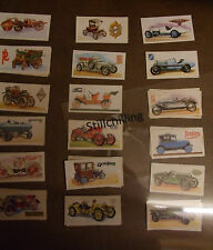 Select from a number of Brooke Bond HISTORY OF THE MOTOR CAR Tea Cards