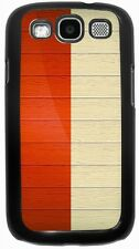 Rikki Knight Indonesia Flag on Distressed Wood Case for Samsung Galaxy S3 S4 S5