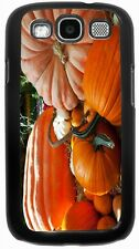 Rikki Knight Halloween Pumpkins Laying in Field Case for Samsung Galaxy S3 S4 S5