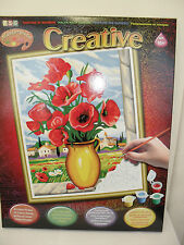 New KSG Masterpiece Creative Paint By Numbers Large Size Age 10+ 40x50cm Picture