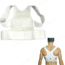 New Magnetic Posture Support Corrector Back Pain Feel Young Brace Shoulder Belt