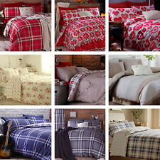 Catherine Lansfield Bedding Sets Duvet Quilt Cover Bedroom Curtains Throw Sheets