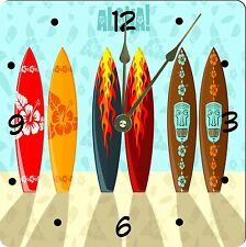 Rikki Knight Aloha Surfboards Wall Clock