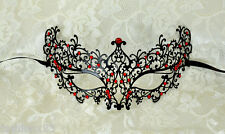 Sexy Venetian Metal Laser Cut Masquerade Mask Event Party