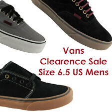 SIZE 6.5 US MENS VANS CLEARANCE SHOES/SNEAKERS/CASUAL/SKATE/FASHION EBAY AUS