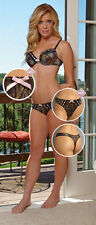 NWT's Wilderness Dreams Mossy Oak Pink Bow Thong Panty All Sizes
