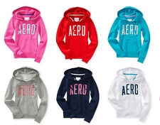 AEROPOSTALE AERO GRAPHIC PULLOVER WOMENS/GIRLS HOODIE/SWEAT SHIRT NEW #1430