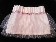 Girls Pink Dotty Tutu Skirt age 3 , 4 year old NEW made in the UK