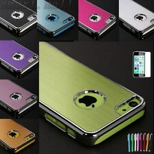 Aluminum Heavy Duty Rugged Hard Case Cover For Apple iPhone 5C C + Pen&Film SM56