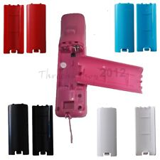 2pcs  Battery Door Cover Shell Lid Replacment for Nintendo Wii Remote Controller