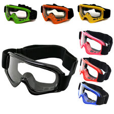Youth Motocross Motorcycle Dirt Bike ATV MX Off-Road Goggles~K,B,R,G,P,O,Y