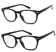 Man Woman Bifocal Visison Spring Temple Reading Glasses - RE19 - +1.00 to +3.00