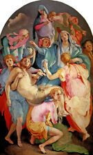 DEPOSITION FROM THE CROSS CHRIST JESUS ENTOMBMENT RENAISSANCE BY PONTORMO REPRO