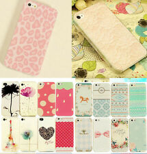 NEW Painted Pattern Hard Back Skin Phone Case Cover for Apple IPhone 4S 5 5S