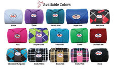 Professionals Choice Polo Wraps PURPLE PINK TURQUOISE ROYAL BLUE Horse Tack