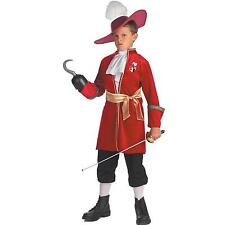 Peter Pan Disney Captain Hook Toddler / Child Costume - 3T-4T