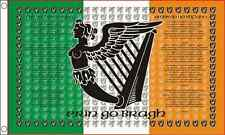 "Ireland Irish Flags - New - 5 x 3"" - Large St Patrick's Day Celtic Republican"