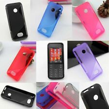 1x New S line Skidproof Gel skin Case cover For Nokia 208