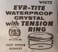 GS EVR-TITE Waterproof Crystals with White Tension Ring 29.6 - 34.5 mm