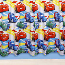 Disney Pixar Cars Speed White Boys Kids Childrens Bedroom Ready Made Curtains