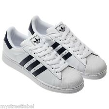 the best attitude f01bb 7a70e adidas SUPERSTAR UK SIZE 10 11 12 WHITE G17068 TRAINERS SNEAKERS RUN DMC  SHOES