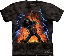 The Mountain T-Shirt Play With Fire Rockstar Skeleton Adult Size