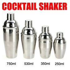 250-750ML Cocktail Martini Bartender Drinking Party Bar Bartending Mixer Shaker