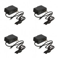 4X Micro USB Wall Home Travel Charger Accessory Black 1 Amp for Cell Phones