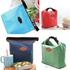 Thermal Cooler Insulated Carry Picnic Bag Waterproof Lunch Storage Pouch B89U